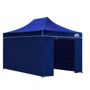 3x4.5 meter gazebo blue