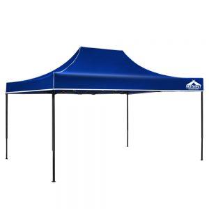 3x4.5m gazebo blue