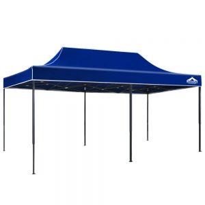 3x6m gazebo blue