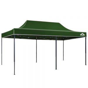 3x6m gazebo green