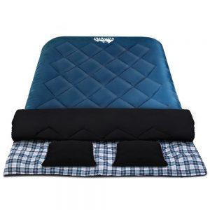 double thermal sleeping bag