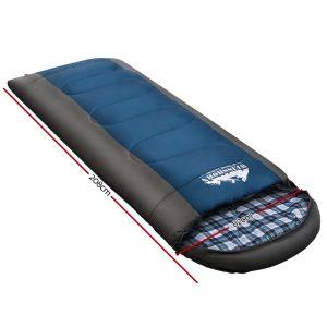 single thermal sleeping bag