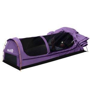 camping swag purple